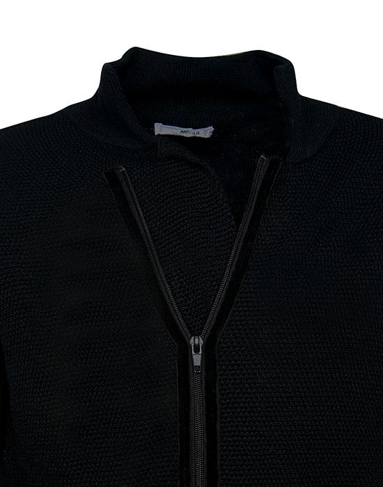 [el]Πλετή ζακέτα με ασύμμετρο κούμπωμα (λεπτομέρειες)[en]Knitted cardigan with asymmetric clasp (details)
