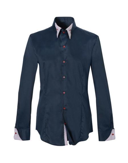Button down πουκάμισο με μικρά patch (μπροστά)