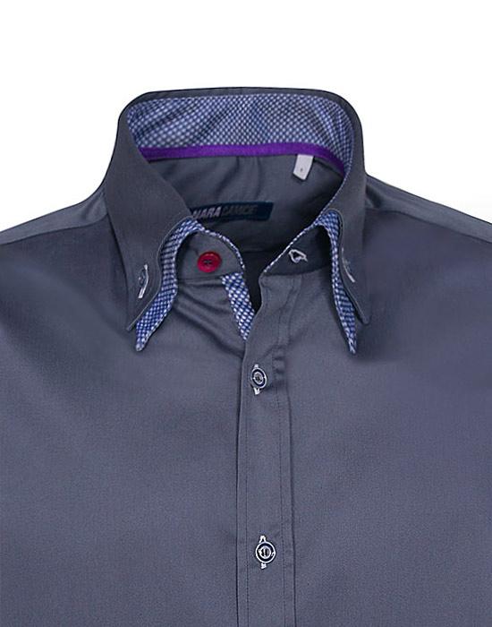 Double Collar Ανδρικό Πουκάμισο 2 | Naracamicie