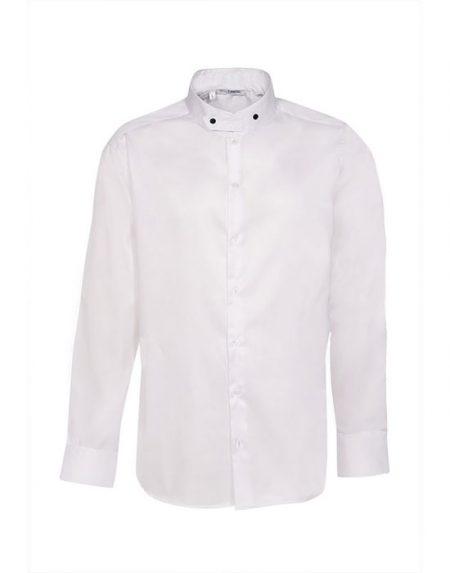 Ανδρικό mandarin collar πουκάμισο | Nara Camicie