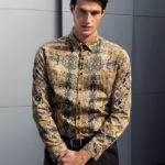 Foulard pattern ανδρικό πουκάμισο