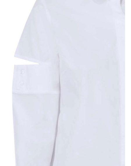 Club collar γυναικείο πουκάμισο (λεπτομέρειες)