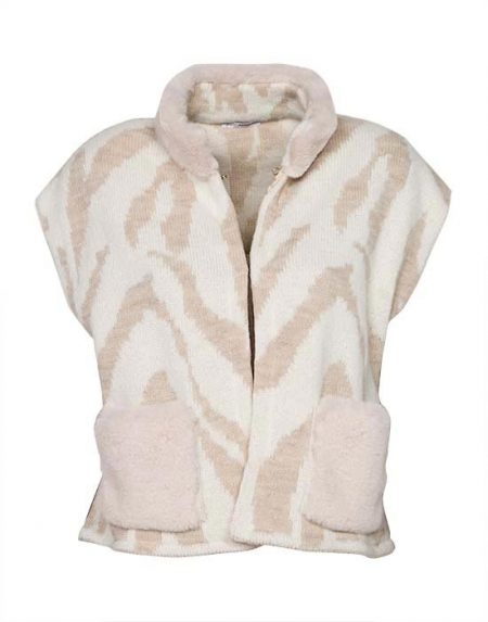 Women's sleeveless cardigan zakar