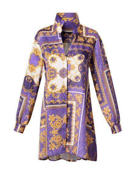 Baroque γυναικείο printed τουνικ | Nara Camicie