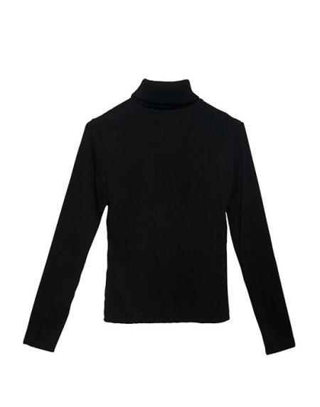 Γυναικεία Col roule μπλούζα πίσω