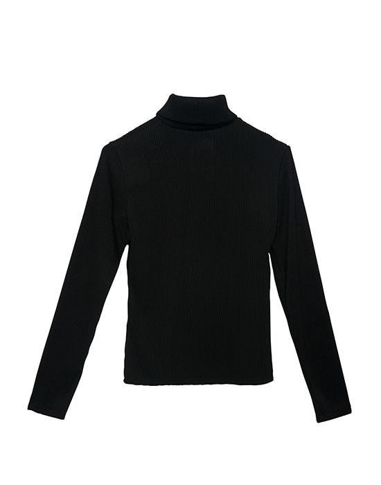 [el]Γυναικεία Col roule μπλούζα πίσω[en]Women's Col roule blouse back