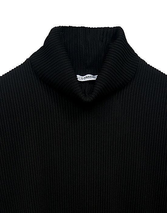 [el]Γυναικεία Col roule μπλούζα λεπτομέρειες[en]Women's Col roule blouse details