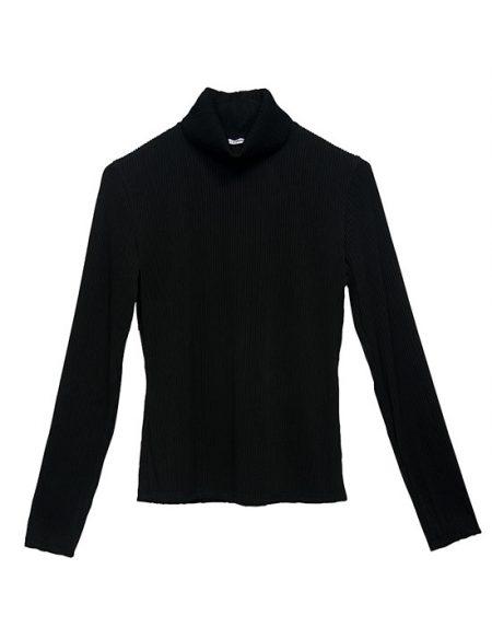 Γυναικεία Col roule μπλούζα μπροστά