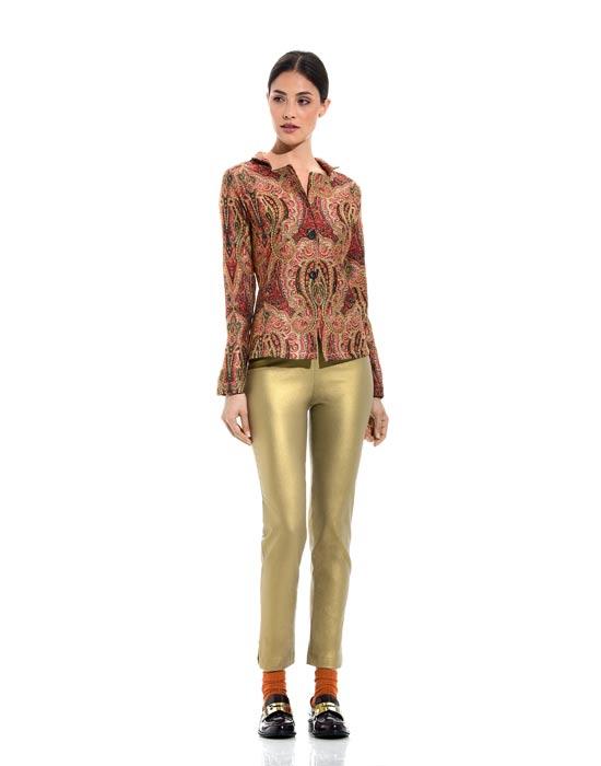 [el]Γυναικεία paisley print ζακέτα[en]Women's paisley print cardigan