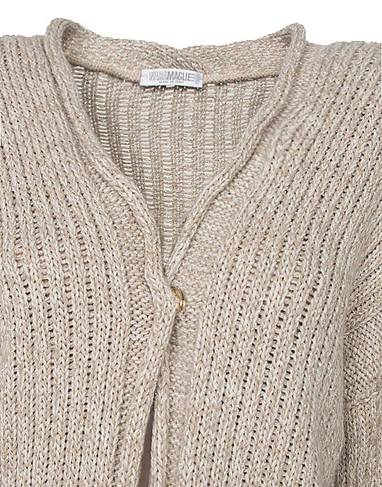 [el]Γυναικεία Ζακέτα lurex λεπτομέρειες[en]Women's lurex Jacket details
