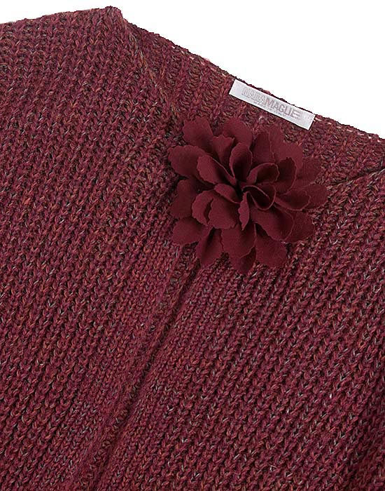 [el]Γυναικεία Ζακέτα με λουλουδένιο motif λεπτομέρειες[en]Women's Cardigan with floral motif details