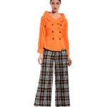 Crossbutton βαμβακερό πουκάμισο (ολόσωμη πόζα)