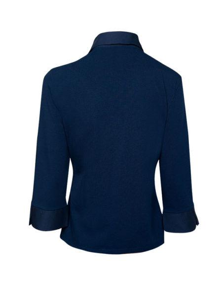 Δαντελένιο πουκάμισο με φερμουάρ (πίσω)