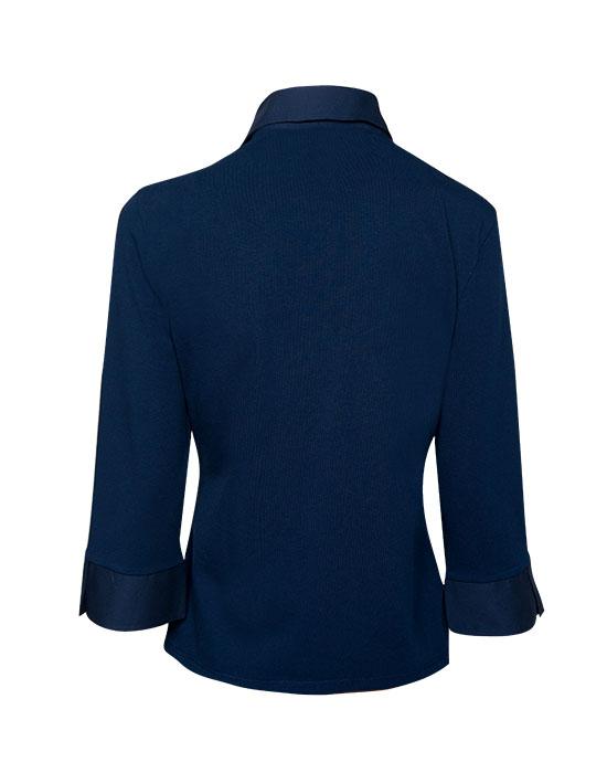 [el]Δαντελένιο πουκάμισο με φερμουάρ (πίσω)[en] Lace Shirt with Zipper (Back)