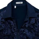 Δαντελένιο πουκάμισο με φερμουάρ (λεπτομέρειες)