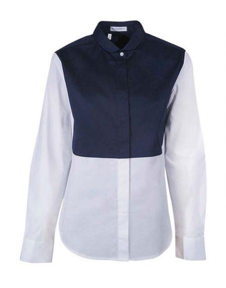 Δίχρωμο βαμβακερό πουκάμισο | Nara Camicie