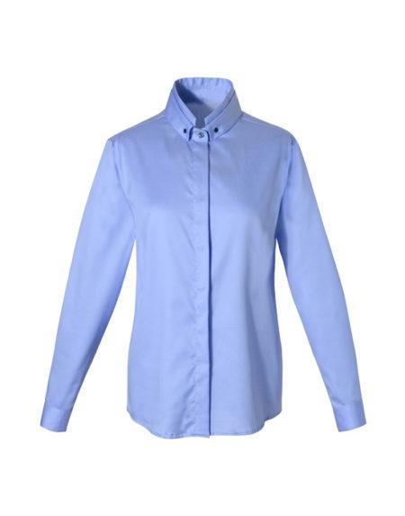 Double collar oxford πουκάμισο (μπροστά)