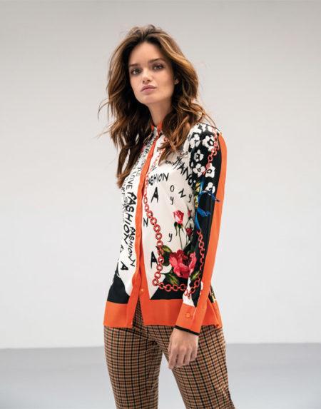 Foulard pattern πουκάμισο