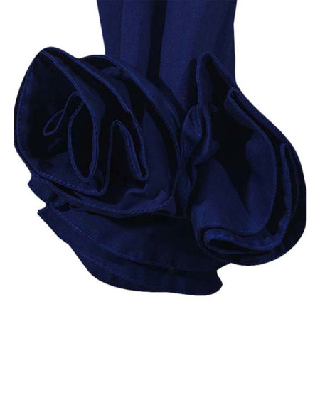 Jersey πουκάμισο με λουλουδένια motif (λεπτομέρειες)