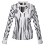 Women's meryl gkofre shirt with rosette (front)