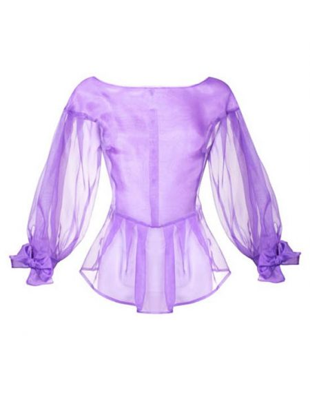 Women's Silk Organza Shirt front