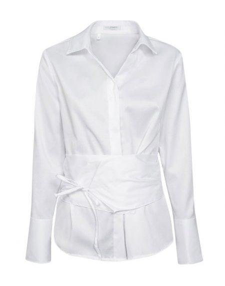 Γυναικείο oxford πουκάμισο με ζώνη