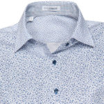 Patchwork liberty printed πουκάμισο (λεπτομέρειες)
