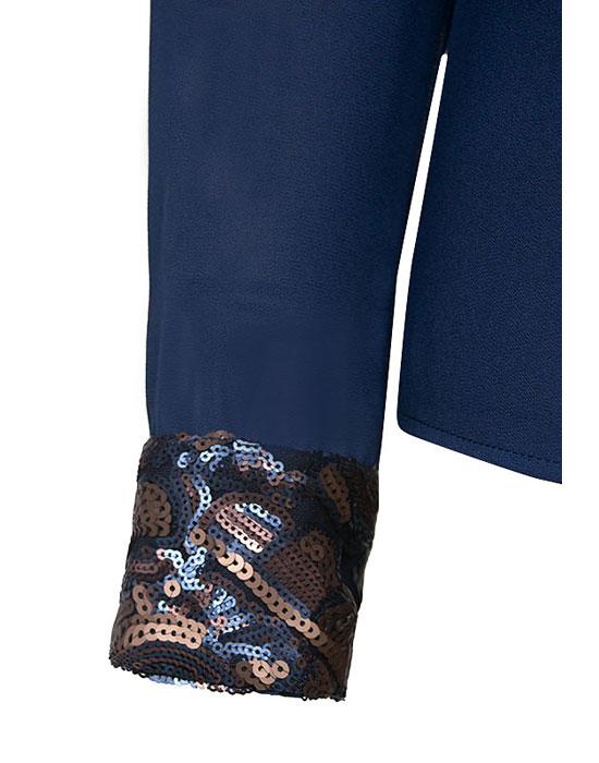 Γυναικείο Πουκάμισο με paillettes zoom | Nara Camicie