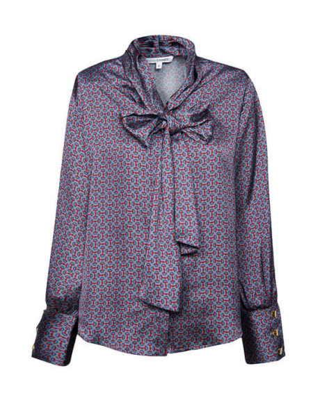 Shirt with foulard sap
