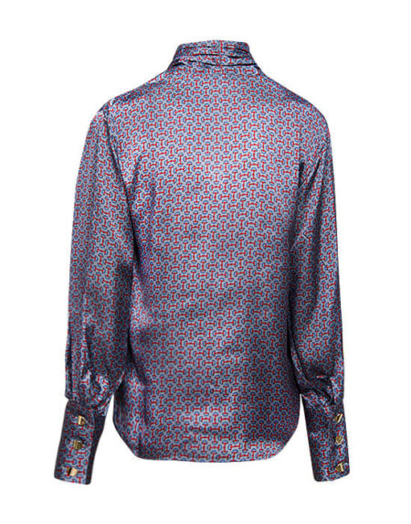 Shirt with foulard sap (back)