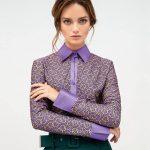 Γυναικείο Rings print jersey πουκάμισο lifestyle