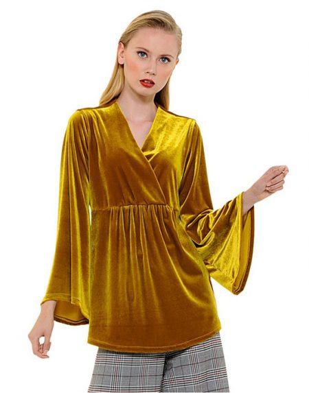 Βελούδινο κρουαζέ πουκάμισο | Nara Camicie