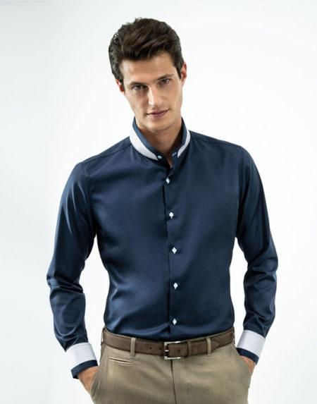 Mandarin ανδρικό πουκάμισο