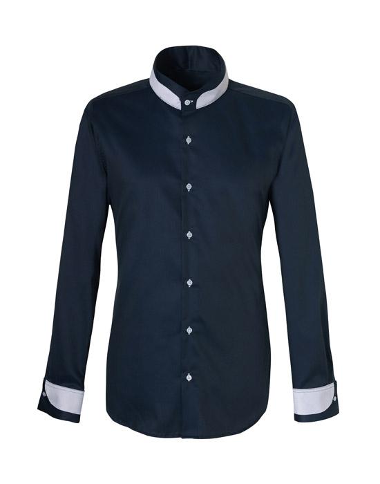 Mandarin ανδρικό πουκάμισο (μπροστά)