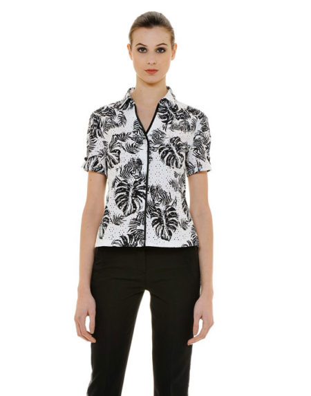 Sangallo πουκάμισο με τύπωμα