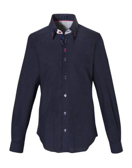 Ανδρικό πουκάμισο button down γιακά | Nara Camicie