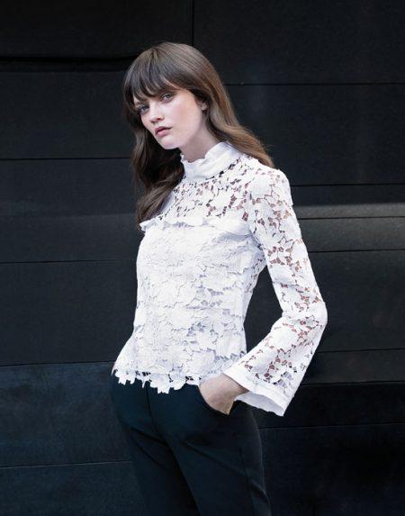 Δαντελένια Γυναικεία Μπλούζα | Naracamicie