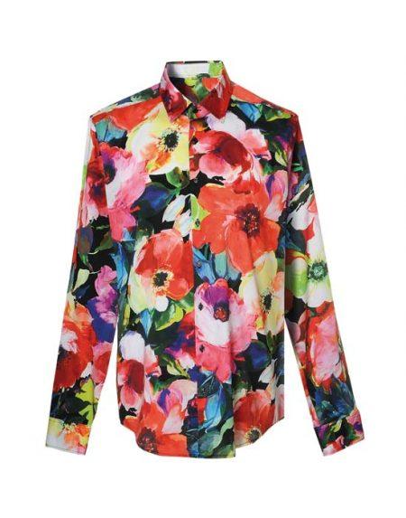Ανδρικό floral πουκάμισο | Naracamicie
