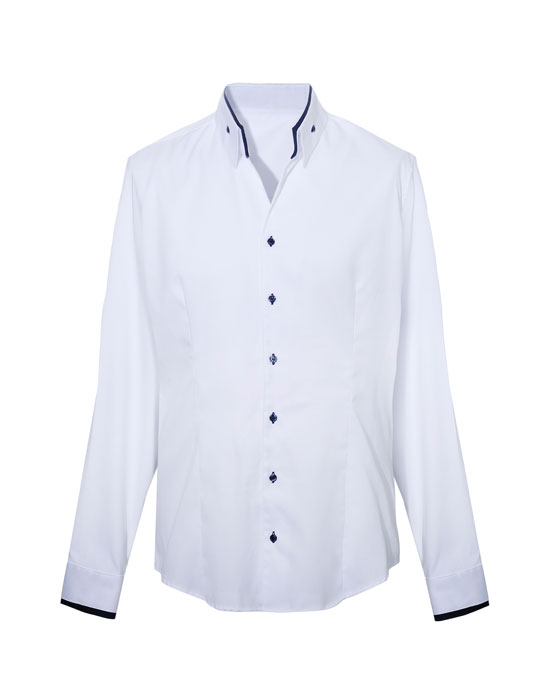 Ανδρικό oxford pin point πουκάμισο | Naracamicie