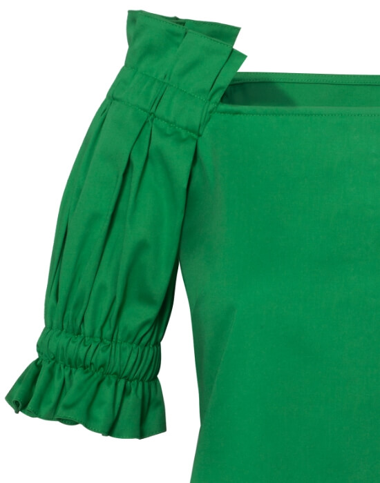 [el]Cold shoulder μπλούζα | Naracamicie[en]Cold shoulder blouse | Naracamicie