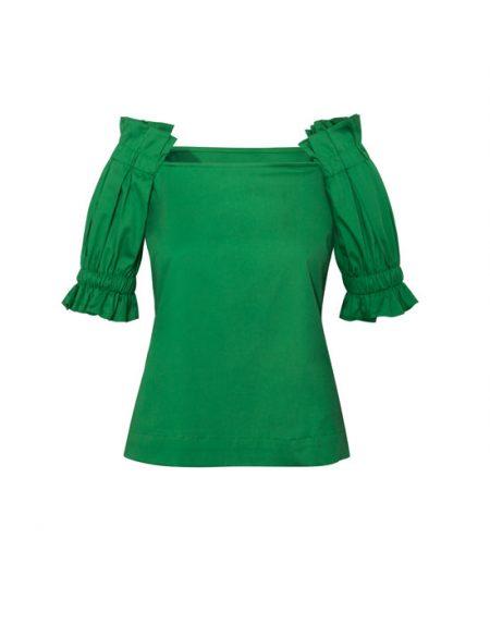 Γυναικεία cold shoulder μπλούζα | Naracamicie