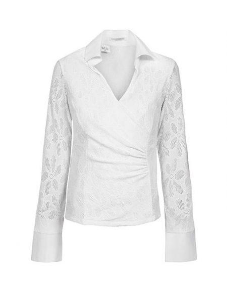 Wrap meryl blouse | Naracamicie