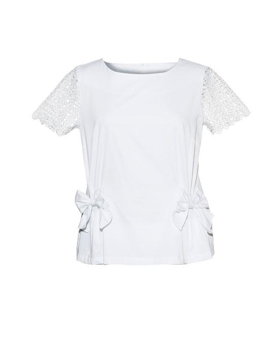 Γυναικεία μπλούζα με φιόγκους | Naracamicie