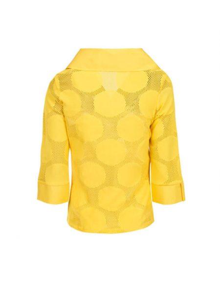 Γυναικεία πουκαμίσα με μεγάλα pois | Naracamicie