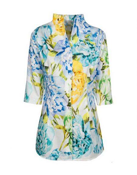Women's floral cotton shirt | Naracamicie