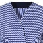 Γυναικείο kruaze ριγέ πουκάμισο | Naracamicie