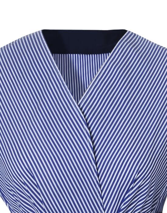 [el]Γυναικείο kruaze ριγέ πουκάμισο | Naracamicie[en]Women's kruaze striped shirt | Naracamicie