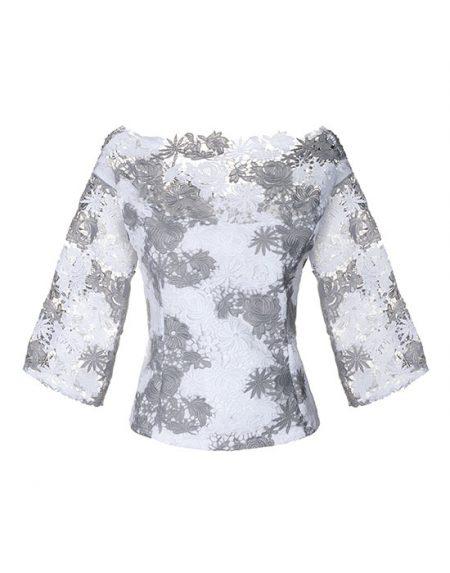 Women's makrame lace shirt | Naracamicie
