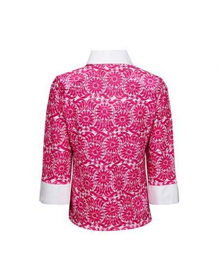 Γυναικείο onde πουκάμισο με floral μοτίβα | Naracamicie