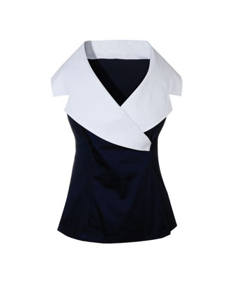 Γυναικείο πουκάμισο shawl γιακά | Naracamicie